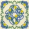 Celtic Quilt Square 10