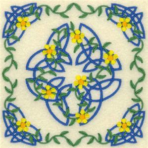 Celtic Quilt Square 10