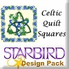 Celtic Quilt Squares Design Pack