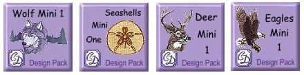 New Creative Design Mini Packs