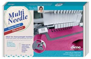 """Multi Needle Monster / GM3 8"""" x 12"""" (for use with arms)"""