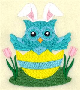 Easter Spring Owl