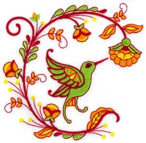 Jacobean Hummingbird 8