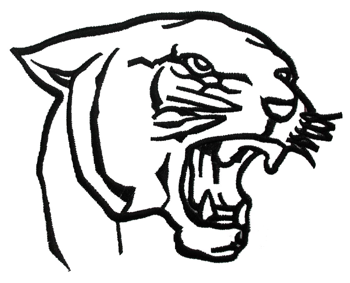 panther drawing outline - photo #16