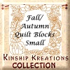 Fall/Autumn / Small Size Quilt Blocks
