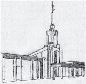Santiago Chile Temple / Larger