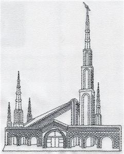 Johannesburg South Africa Temple / Smaller