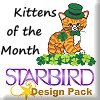 Kittens of the Month Design Pack