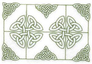 Celtic Knot Stipple 3 Large